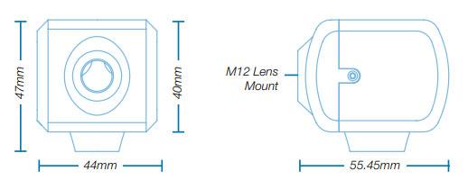 Marshall CV506 Dimensions