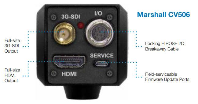 Marshall CV506 Output