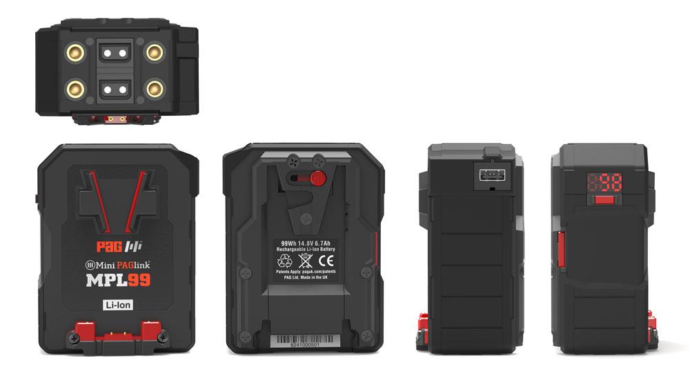 PAGlink MPL99V Battery