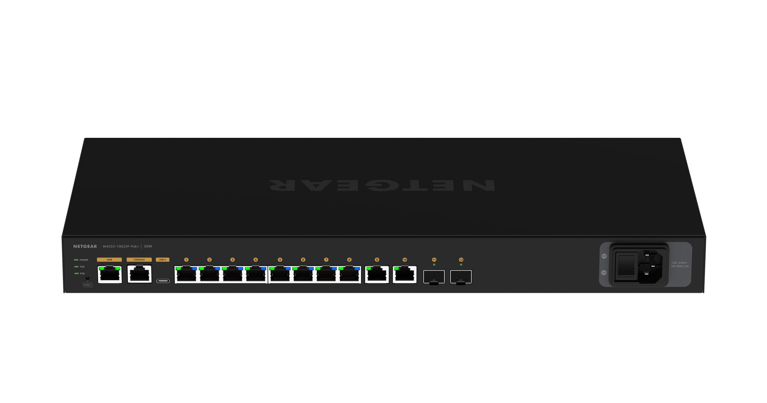 Netgear GSM4212PX