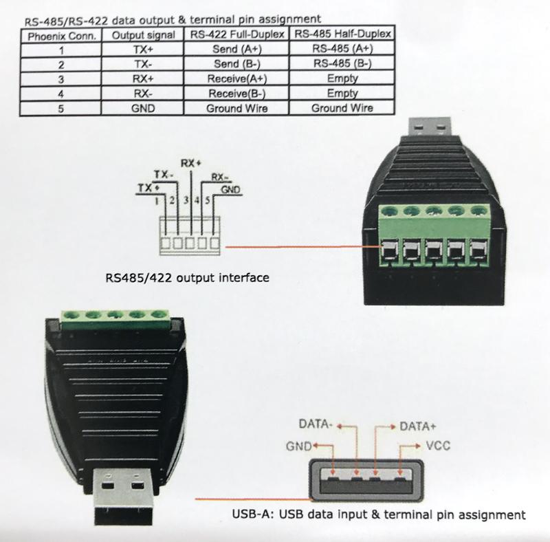 CV-USB-RS485