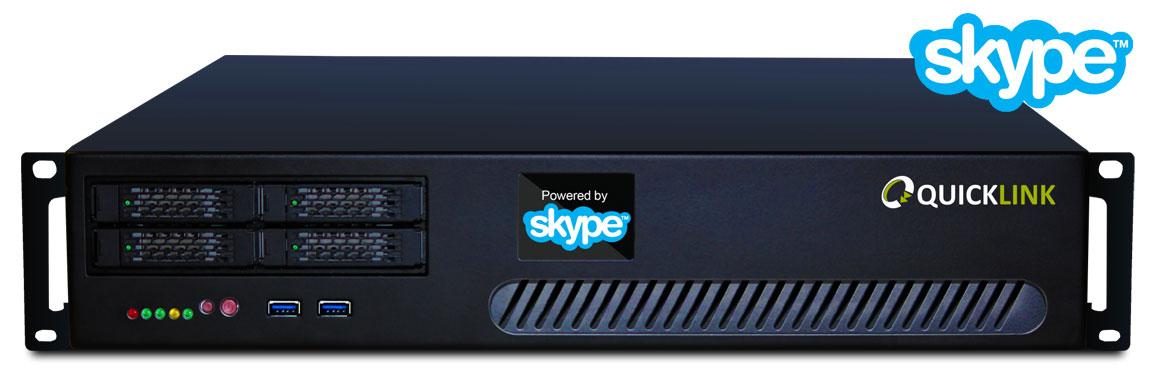 Quicklink TX Quad Skype Server